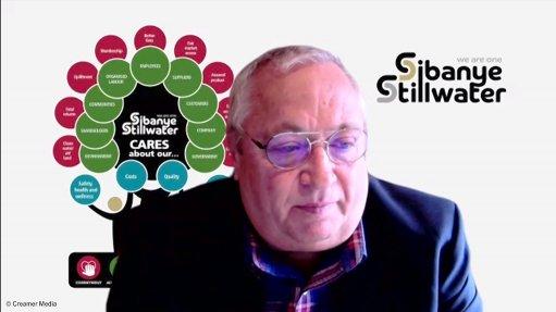 Creamer Media screenshot taken during DigiMine online event at Wits University
