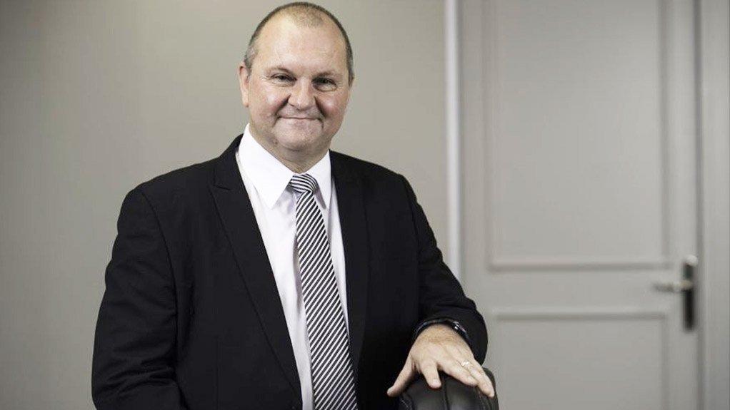 A photo of Minergy CEO Morné du Plessis