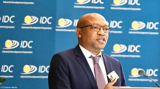 A photo of IDC CEO TP Nchocho
