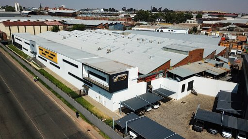 Pic of BIC Manufacturing Plant in Johannesburg, South Africa