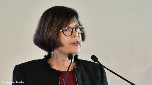 Forestry, Fisheries and the Environment Minister Barbara Creecy