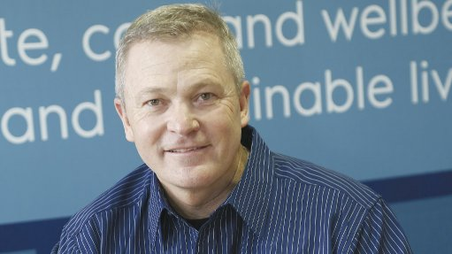 Image of Murray Crow, MD of Electrolux for South Africa