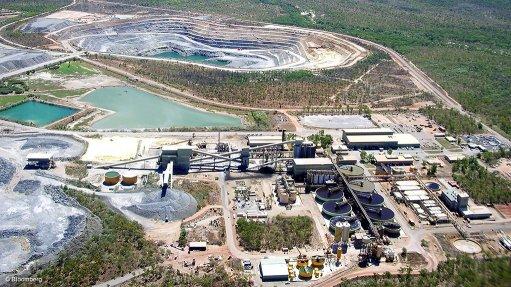 Image shows the Ranger uranium mine