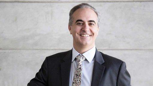 Renergen CEO Stefano Marani standing