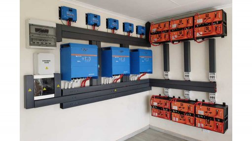 a home installation of REVOV batteries