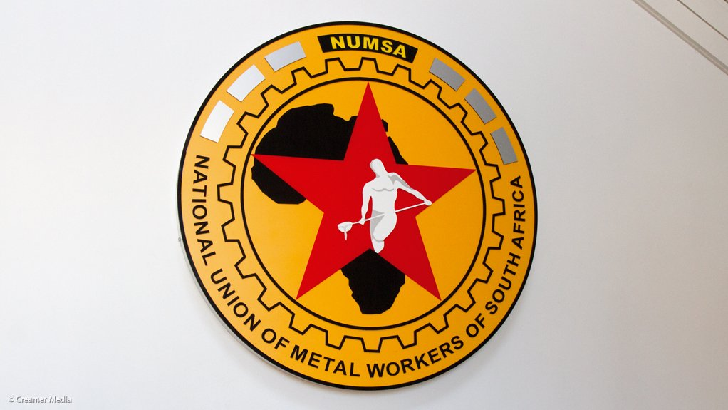 An image of the Numsa logo