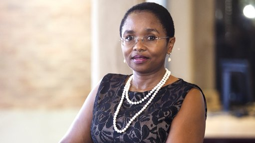 An image of the Minerals Council health head Dr Thuthula Balfour