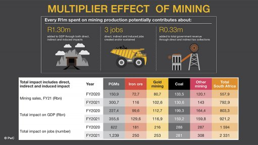 Investment in mining crucial to ensuring  continued contribution to economy – PwC