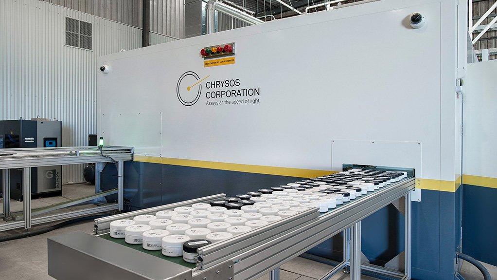A photo of Chrysos Corporation's PhotonAssay laboratory