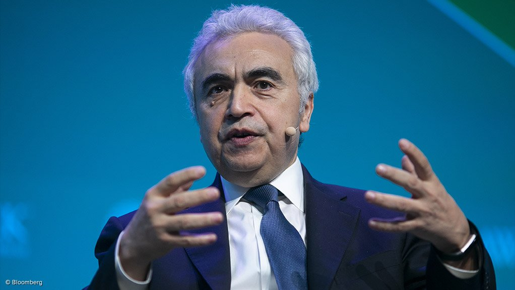 IEA executive director Dr Fatih Birol