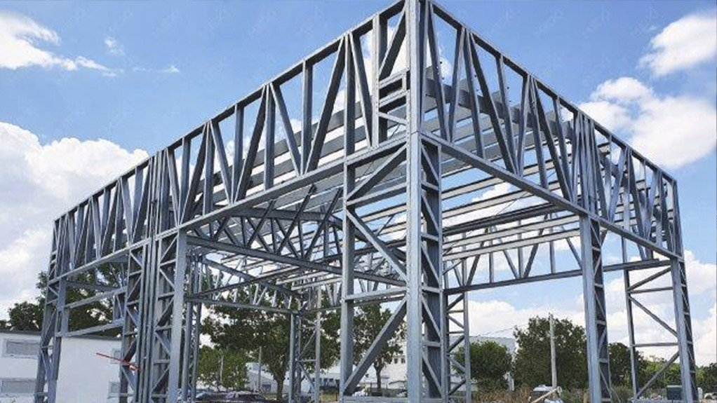 Using continuously galvanized steel for light steel frame building