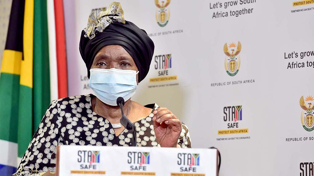 Image of Minister of Cooperative Governance and Traditional Affairs Dr Nkosazana Dlamini-Zuma