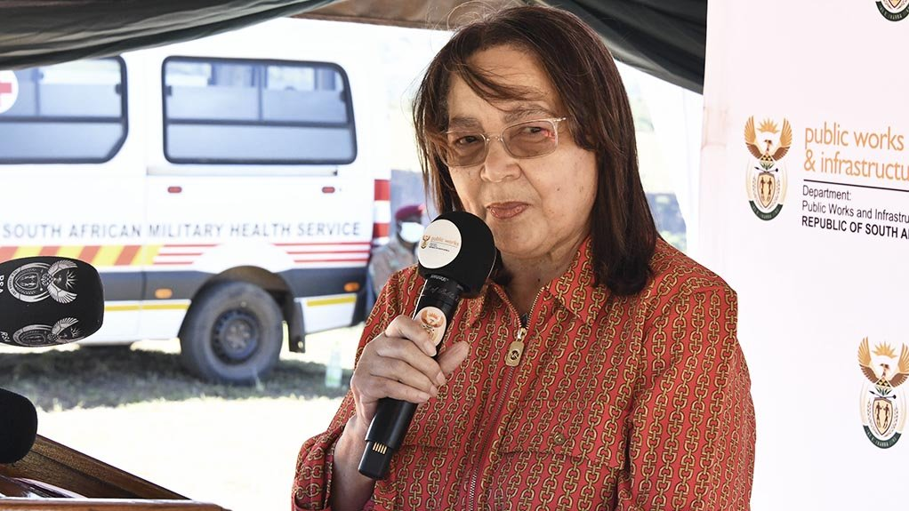 Image of Minister of Public Works and Infrastructure Patricia De Lille