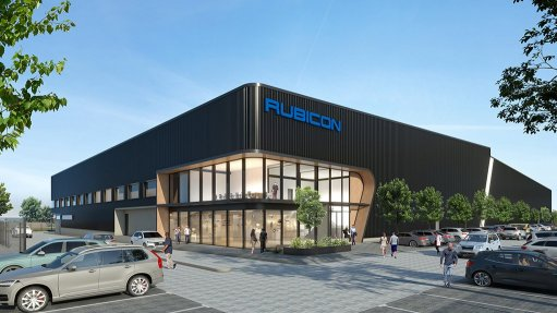 Artist's impression of the Rubicon distribution and office development