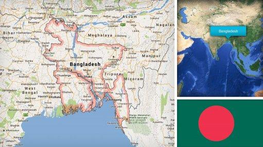 Image of Bangladesh map/flag