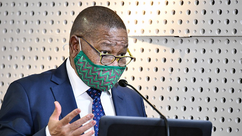 Image of Minister of Higher Education, Science And Innovation Dr Blade Nzimande