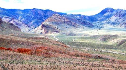 An image of ioneer's Rhyolite Ridge project area