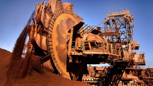 Image shows one of Rio Tinto's iron-ore operations in the Pilbara
