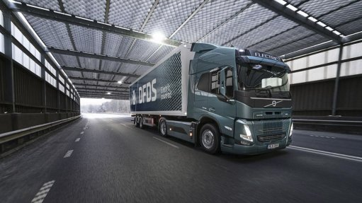 Image of the Volvo FM Electric truck