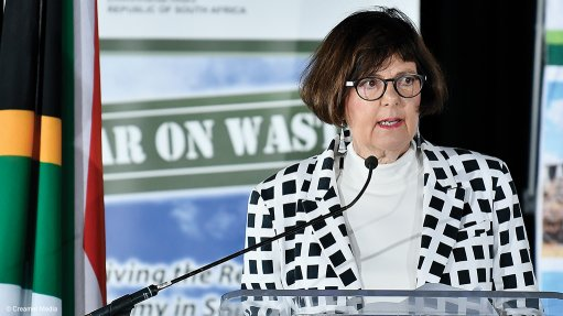 South Africa's Forestry, Fisheries and the Environment Minister Barbara Creecy
