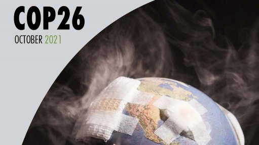 Image cover of Creamer Media's'COP26: Advancing South Africa's just energy transition' report