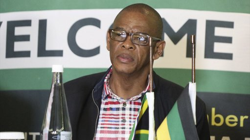 Suspended ANC secretary-general Ace Magashule