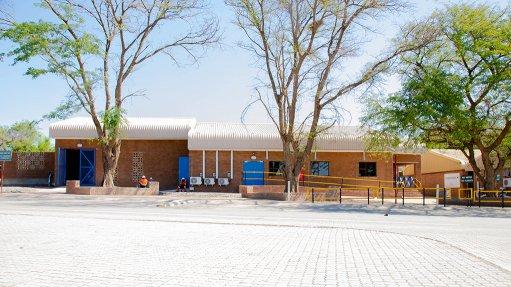 Pic of Venetia diamond mine's HTS Building