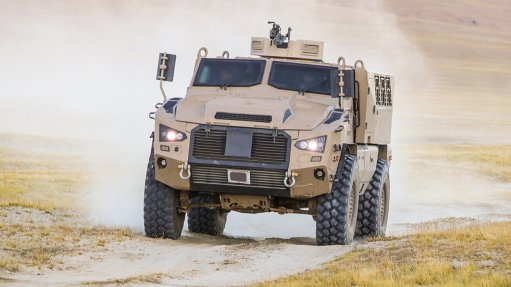 Mbombe 4 infantry fighting vehicle