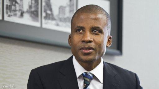 Pic of Bushveld CEO Fortune Mojapelo