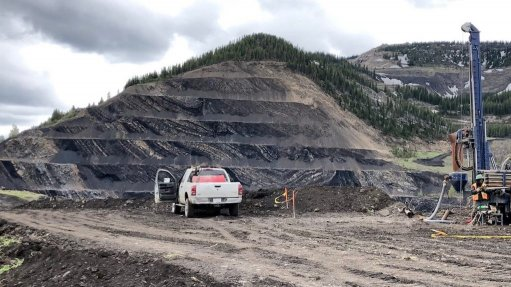 Image of Trent Mountain mine, in Canada
