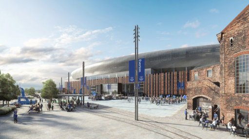 Image of proposed new Everton Football Club