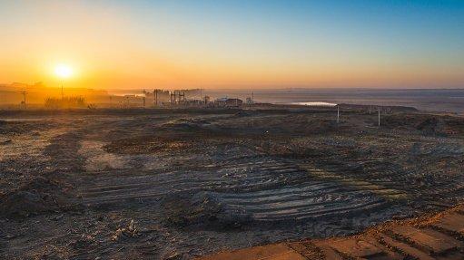 Matla coal mine surrounds