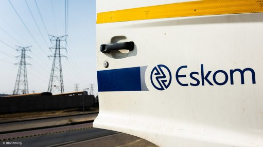 A photo of a vehicle with the Eskom logo