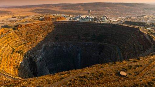 A photo of Petra Diamonds' Finsch mine, in South Africa