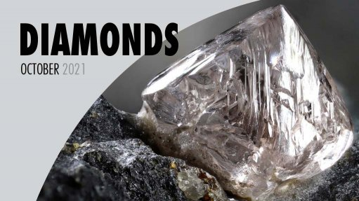 Cover image of Creamer Media's Diamonds 2021: Agility in the face of crisis report