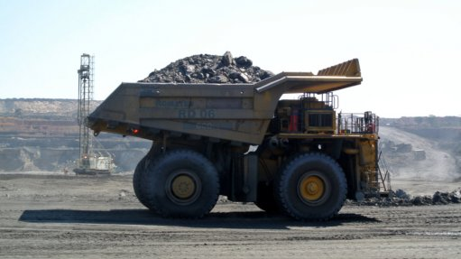 An image of a truck operating at Sentinel