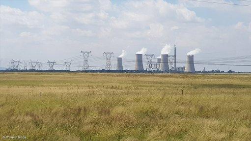 A photo of Eskom's Lethabo power station