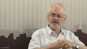 Researcher and analyst Prof Raymond Suttner