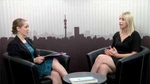 Samantha Moolman and Tamsyn de Beer