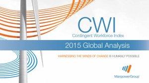 Contingent Workforce Index 2015 Global Analysis (September 2015)