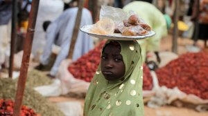 Poverty is driving a rise in the number of Nigerian child hawkers