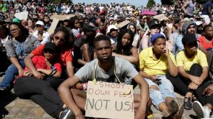 The question of human rights violations against the #feesmustfall protesters