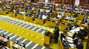 Mini Plenary – Debate on Vote 32: Telecommunications and Postal Services (E249)
