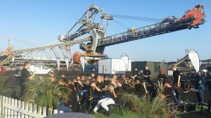 Brand new equipment takes centre stage at coal terminal