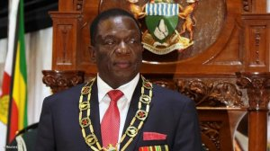 Zimbabwe's president takes oath as US censure hangs over vote