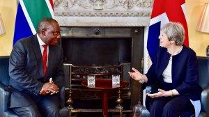 President Ramaphosa to host UK Prime Minister May