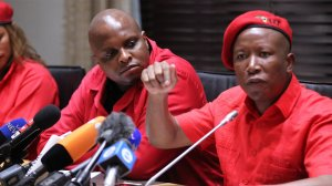 Malema asks Ramaphosa to accept Nene's resignation