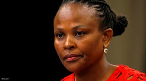Gordhan's meeting with me has nothing to do with State Capture Inquiry – Mkhwebane