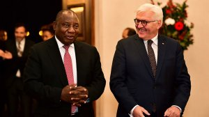 Steinmeier lauds Ramaphosa for investigating State capture scandal