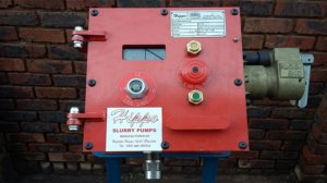 HIPPO Flameproof Submersible Pump control panel which complies to IEC 60079-1 flameproof specifications